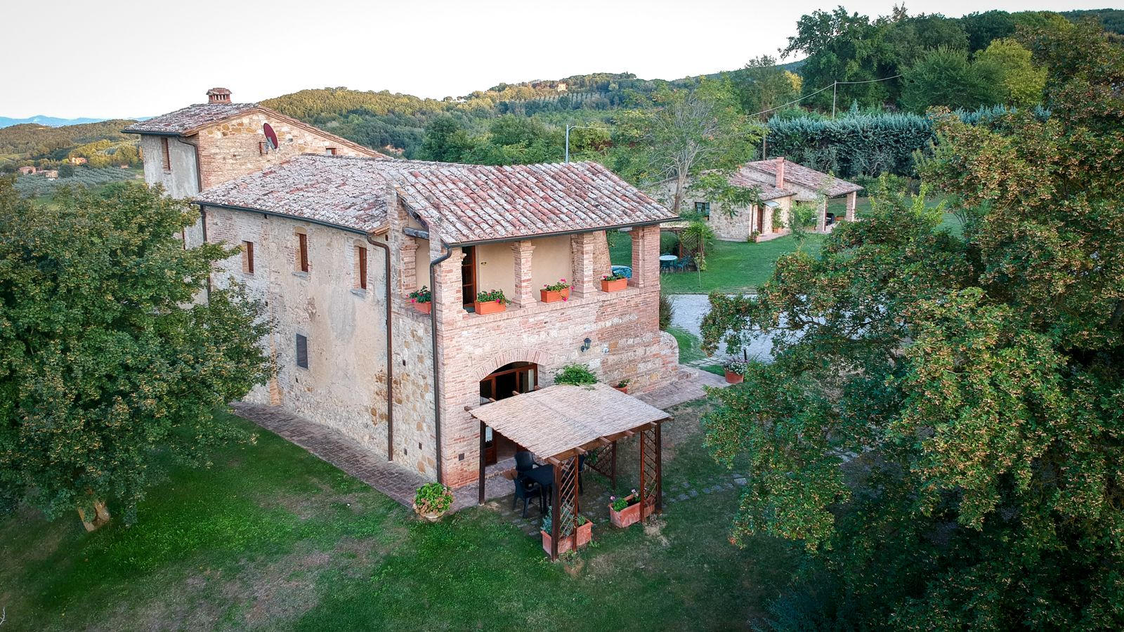 Our apartment at Agriturismo Nobile